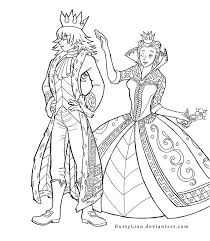 The king and queen of hearts by dustylion on deviantart