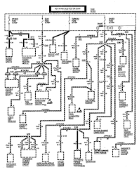 Chevrolet astro 1994 wiring diagrams fuse box carknowledge