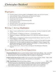 Resume Format For English Teachers Resume For English Teacher