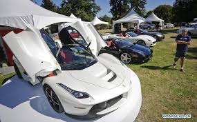 Luxury And Super Car Show Held In Vancouver Xinhua English News Cn