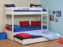 twin kids trundle bed