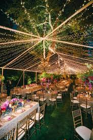 outdoor tree lighting ideas. Gallery Of Unique Ways To Decorate For Romantic With Outside Lights Wedding Decorations Images Outdoor Tree Lighting Ideas