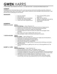 Server Resume Template Delectable Fine Dining Server Resume By Jason Daniels How To Write A Server