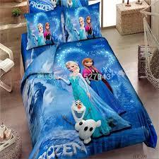 promotion brand frozen bedding sets elsa anna bedclothes quilt cover bed line set twin full