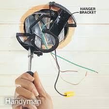 photo 5 attach the hanger bracket