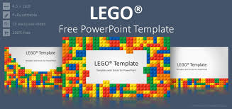 Free Powerpoint Theme Lego Powerpoint Template