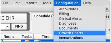 Define Growth Chart Configure Growth Charts Pcc Learn