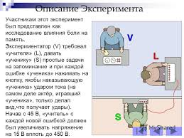 Презентация на тему Эксперимент Милгрема Салахутдинова Ксения  8 Описание Эксперимента Участникам