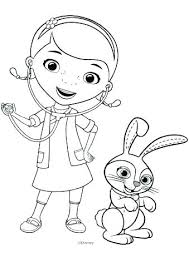 Free Printable Doc Mcstuffins Coloring Sheets Doc Coloring Pages Doc