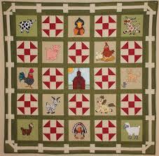 Farm PDF quilt pattern; Farm animal appliques; churn dash block ... & Farm PDF quilt pattern; Farm animal appliques; churn dash block; Down on the Adamdwight.com
