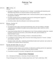 Resume Sample Software Project Manager Resume Sample Resume Cover