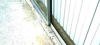 patio door track repair replace sliding screen door patio track repair cover tr sliding screen door