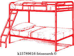 bunk bed clip art. Simple Bunk Bunk Bed Intended Bed Clip Art L