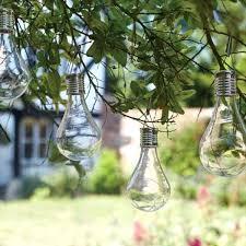 hanging solar lanterns for garden 6 x smart garden eureka hanging solar light bulb lantern garden