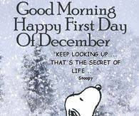 Good Morning December Quotes