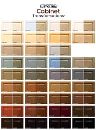 Rust Oleum Cabinet Transformations Color Swatches Both