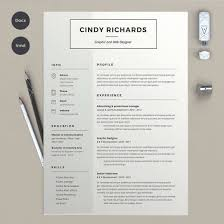 The Best Cv Resume Templates 50 Examples Adobe Illustrator Resume