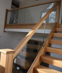 cost of gl railing system modern staircase ideas stainless steel