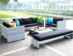 furniture affordable modern. Cheap Patio Furniture Canada Contemporary Grey Finish Modern Outdoor Sofa Set Affordable