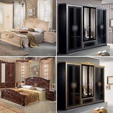 italian furniture bedroom sets. roma complete 6 pcs italian bedroom set in 4 colours offer italian furniture bedroom sets