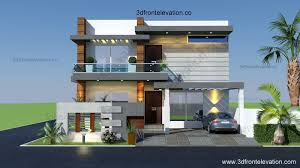 Small Picture 3D Front Elevationcom 10 Marla Houses Design Islamabad with Pictures