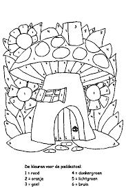 Kleurplaat Kleuters Mandala A4 Lente Kleurplaten Mandala