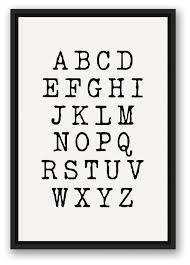 framed canvas wall art decor typography