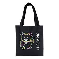 "<b>Сумка</b> Tote <b>bag</b> ""<b>Lucky</b> pig"" бренда Made in Respublica* – купить ..."