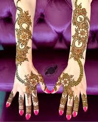 Ganpati Mehndi Design Top 51 Full Hand Mehndi Designs Shaadisaga