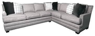 grey sectional leather sofa gray nailhead brown sofas