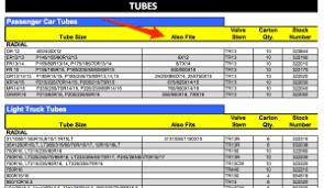 Atv Inner Tube Size Chart Www Prosvsgijoes Org