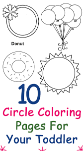 Top 10 Circle Coloring Pages For
