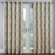 eden gold fl jacquard luxury eyelet curtains