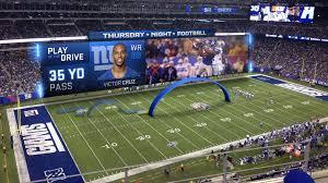 Nfl Drive Chart Live Cbs Thursday Night Football