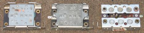 bmw airhead charging systems diode boards from left bosch 5 out y bosch 6 y wherle back view
