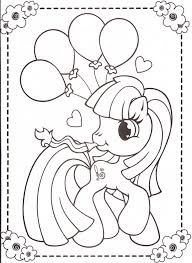 Small Picture my little pony coloring pages 45 Pony Pony party and Birthdays