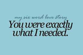 Love Story Quotes Delectable Quotes About Love For Him My Six Word Love Story SoloQuotes