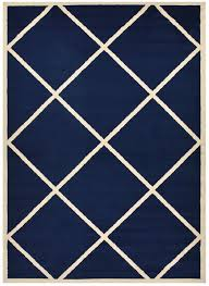 navy blue trellis modern area rugs lattice trellis carpet navy blue and white rug 5x7
