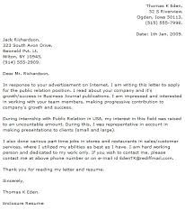 Resume Public Relations Assistant Cover Letter Best Inspiration