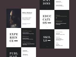 17 Awesome Graphic Design Resume To Get You Hired Today