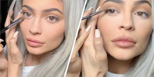 kylie jenner get ready with me we need to try kylie jenner s eyeliner trick for soft smoky eyes imately