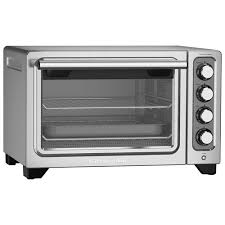 kitchenaid 0 77 cu ft compact toaster oven contour silver toaster ovens best canada