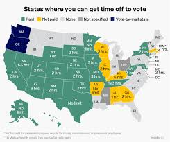 California Labor Law Sick Doctors Note Can I Leave Work Early To Vote In 30 States The Answer Is Yes