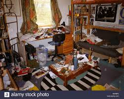 Messy Teenage Bedrooms Extremely Messy Teenage Bedroom Stock Photo Royalty Free Image