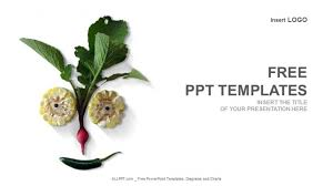 Powerpoint Templates Food Organic Vegetables Food Powerpoint Templates