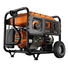 generac 7,000 watt gasoline powered electric start generator with generac xg8000e carburetor at Generac Xg 8000 Wiring Diagram
