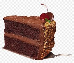 Chocolate Cake Clipart Happy Birthday Slice Of Cake Png Free