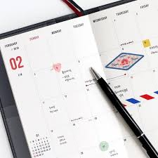 2018 The Simple Dated Weekly Planner Scheduler