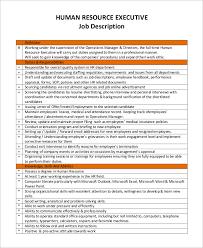 Human Resource Job Description. Human Resource Assistant Manager Job ...