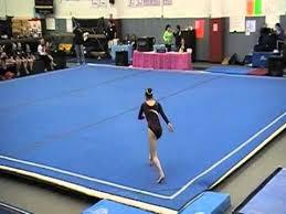 Ali House level 8 New York State Gymnastics Championship floor